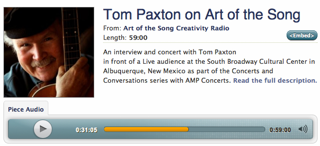 TomPaxton_ArtofSong